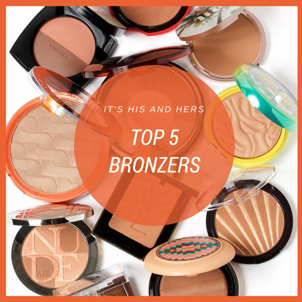 | TOP 5: Bronzers (I) | #Hx2com