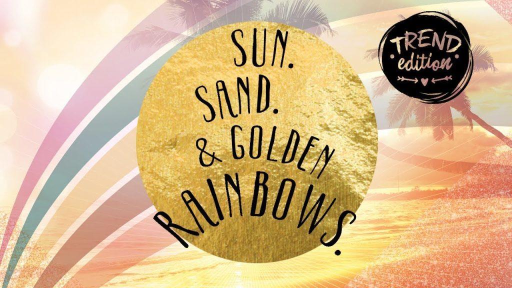 """  Η νέα Trend Edition της Essence """"sun. sand. & golden rainbows."""" κρύβει όλα τα καλοκαιρινά vibes που αναζητάς!   #Hx2com"""