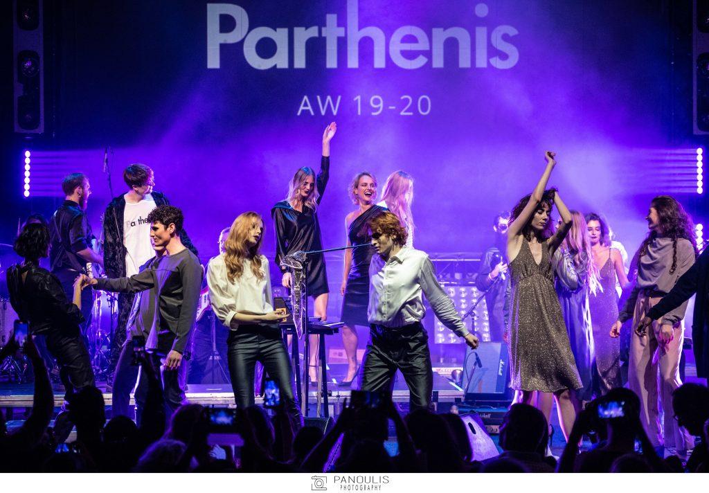   Εντυπωσιακό φινάλε του οίκου Parthenis για το 26ο AXDW   #Hx2com